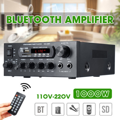 Bluetooth Amplifier Music Player