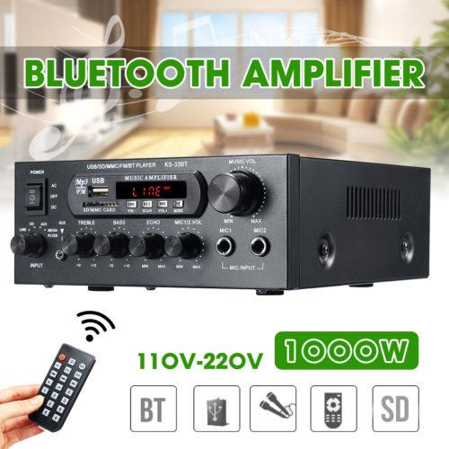 Bluetooth Amplifier Music Player