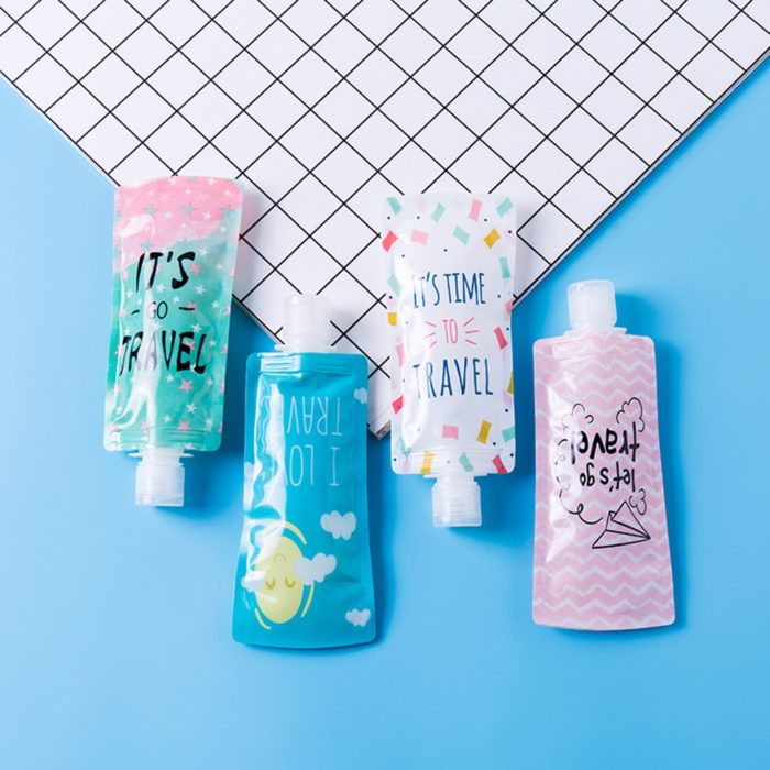 Cosmetic Packaging Travel Container