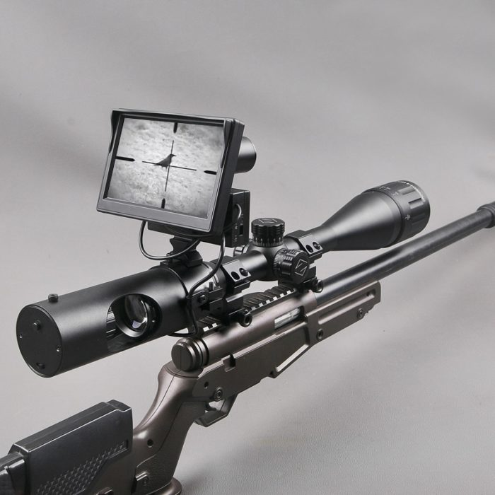 Hunting Scope with Digital Screen