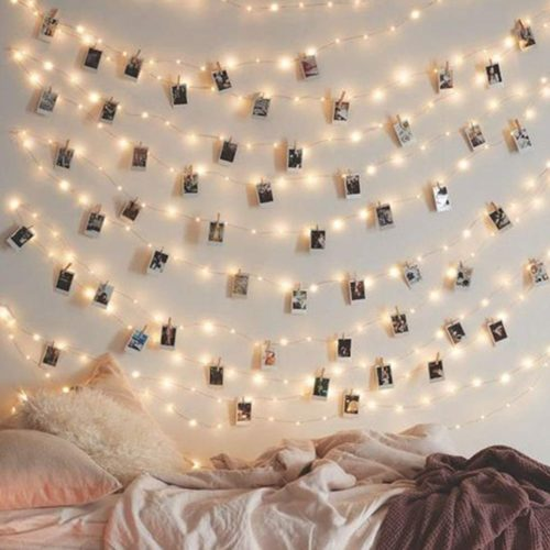 Fairy String Lights Photo Clip Decoration