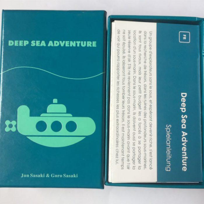 Family Board Games Deep Sea Adventure