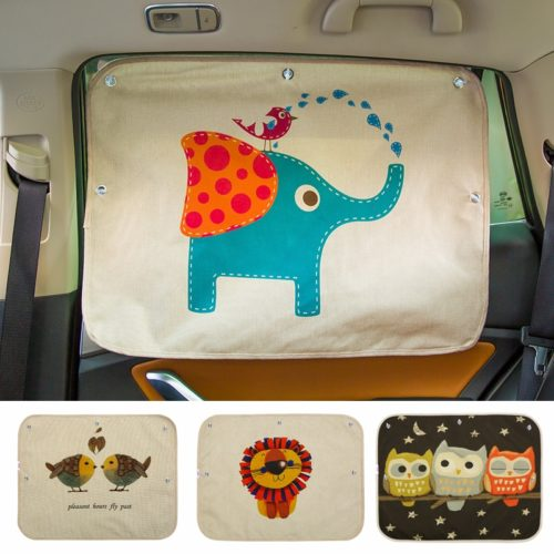 Car Window Sun Shade Curtain