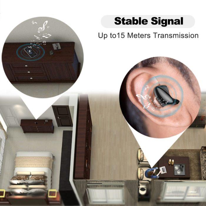 Cordless Earbuds Wireless Headphones