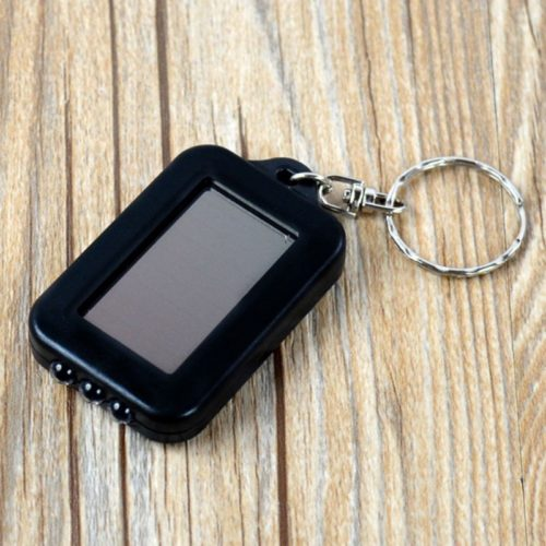 Keychain Flashlight Mini Solar Light
