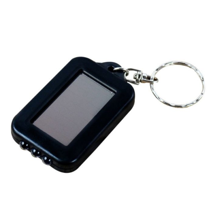 Keychain Flashlight Mini Solar Light
