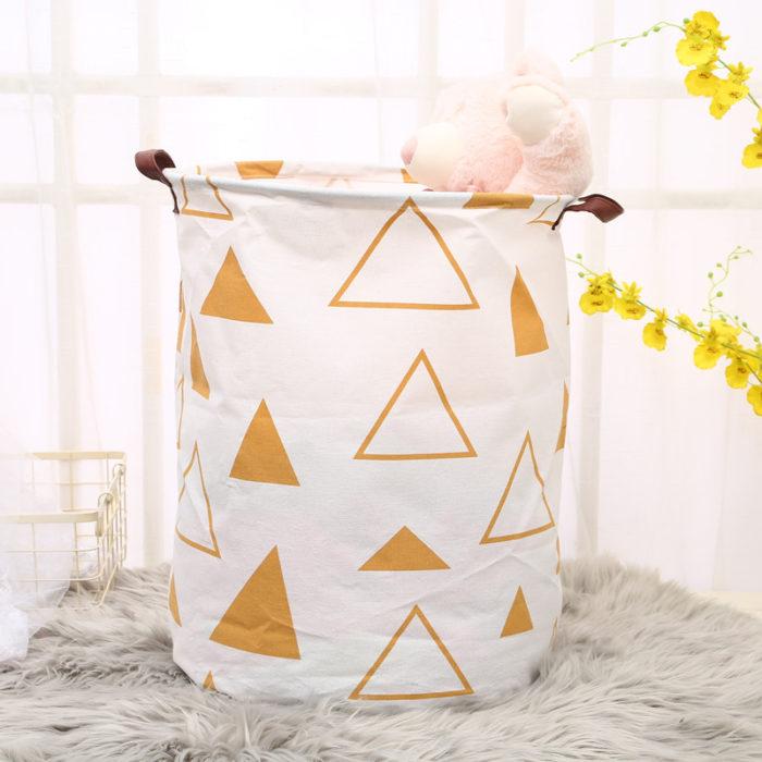 Laundry Basket Portable Clothes Bin
