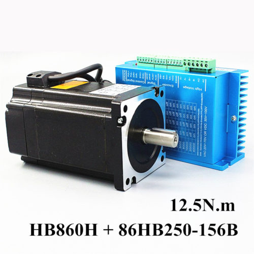 Stepper Motor Closed Loop Type