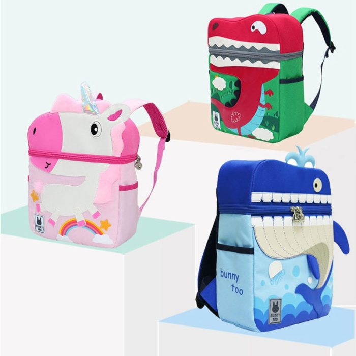 Cute Backpacks Kids 3D Cartoon Design
