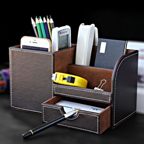Office Desk Organizer Multifunction Box