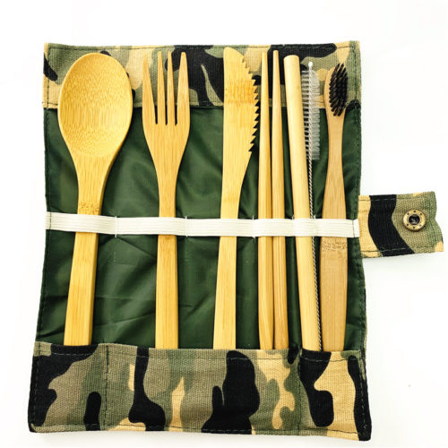 Wooden Cutlery Set Bamboo Tableware