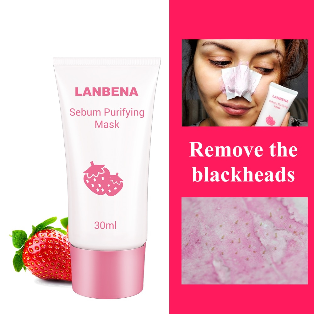 Image result for Nose Mask Strawberry Pore Strips