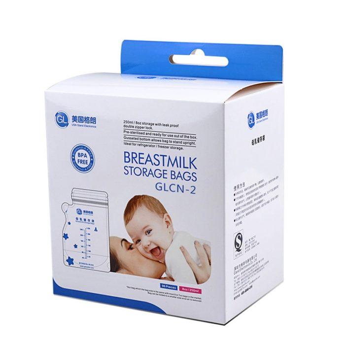 Milk Storage Bags for Breastfeeding