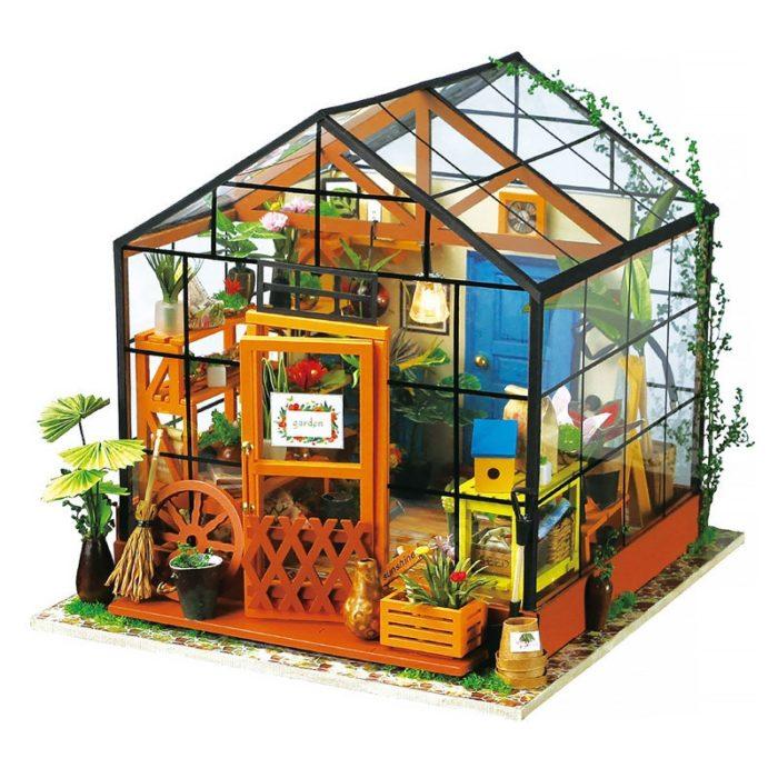 Miniature Dollhouse Kits DIY Set