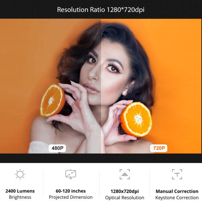 HDMI Projector Mini Video Player
