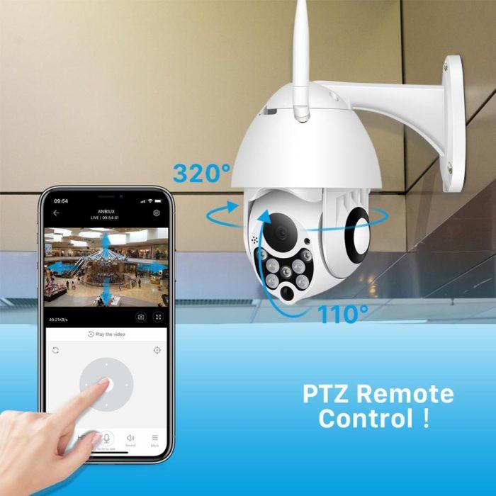 Wireless Surveillance Cameras 4x Digital Zoom