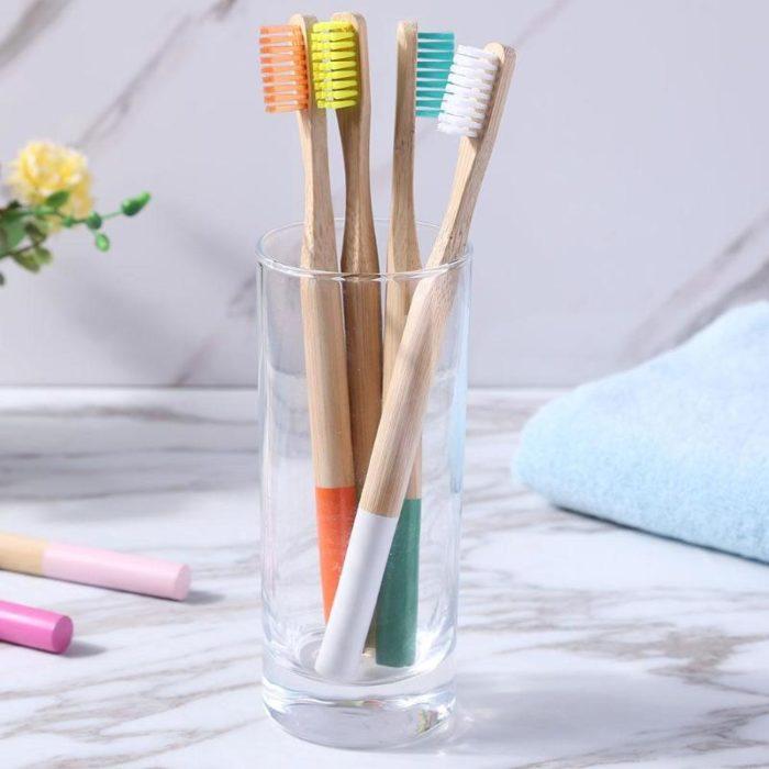 Organic Toothbrush Soft Bristles