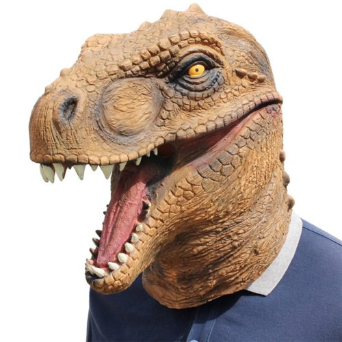 Dinosaur Mask T-Rex Costume
