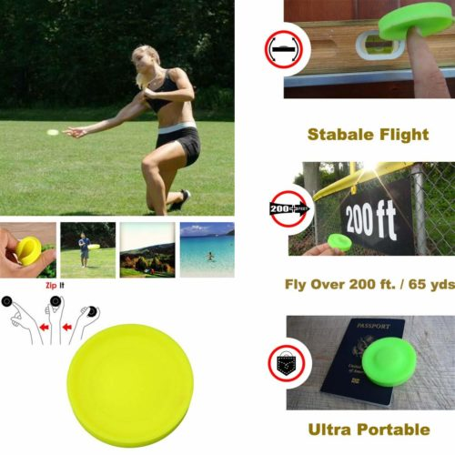 Flying Disc Mini Pocket Frisbee