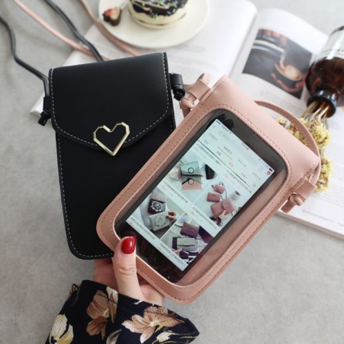 Phone Pouch Mini Crossbody Bag