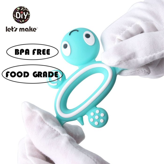 Baby Teething Toys Silicone Teethers