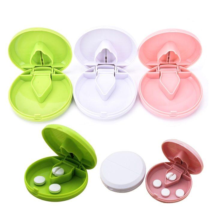 Pill Splitter Small Medicine Container