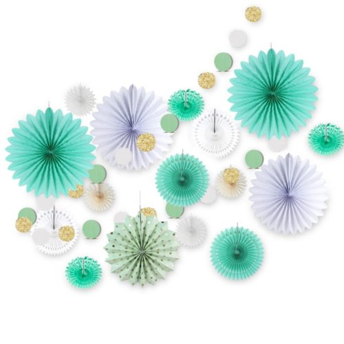 Paper Decoration Circle Garland Decor