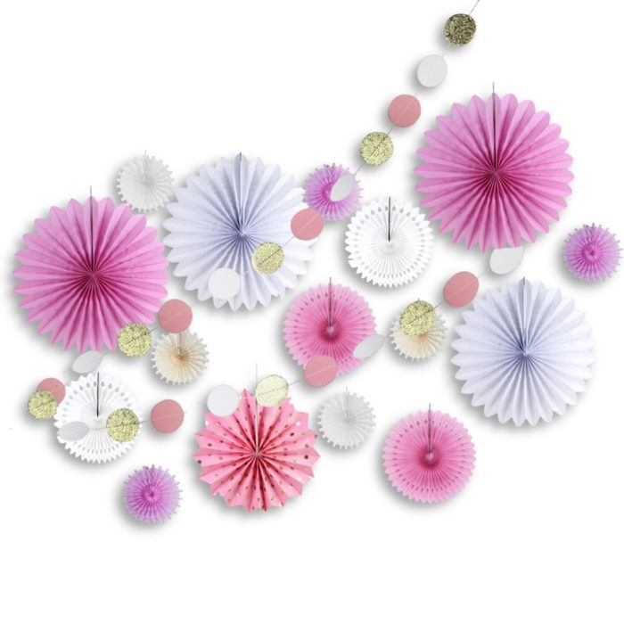 Paper Decoration Circle Garland Decor