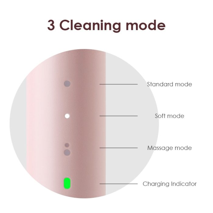 Sonic Electric Toothbrush Automatic Cleaner