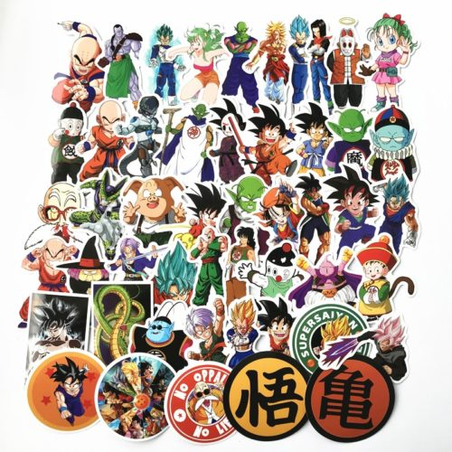 Anime Stickers Dragon Ball Decals
