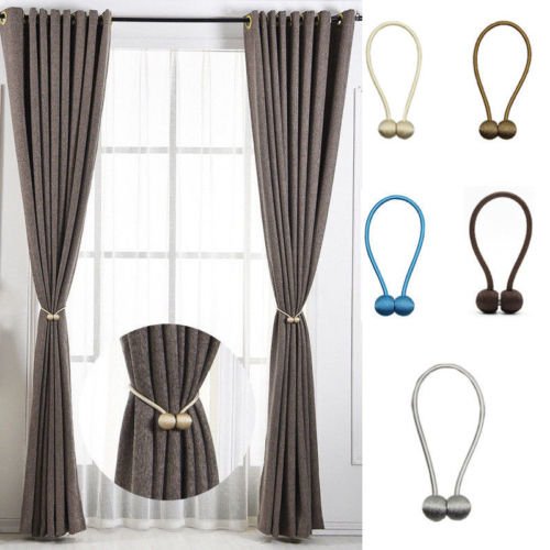 Curtain Tie Backs Magnetic Pearl Ball