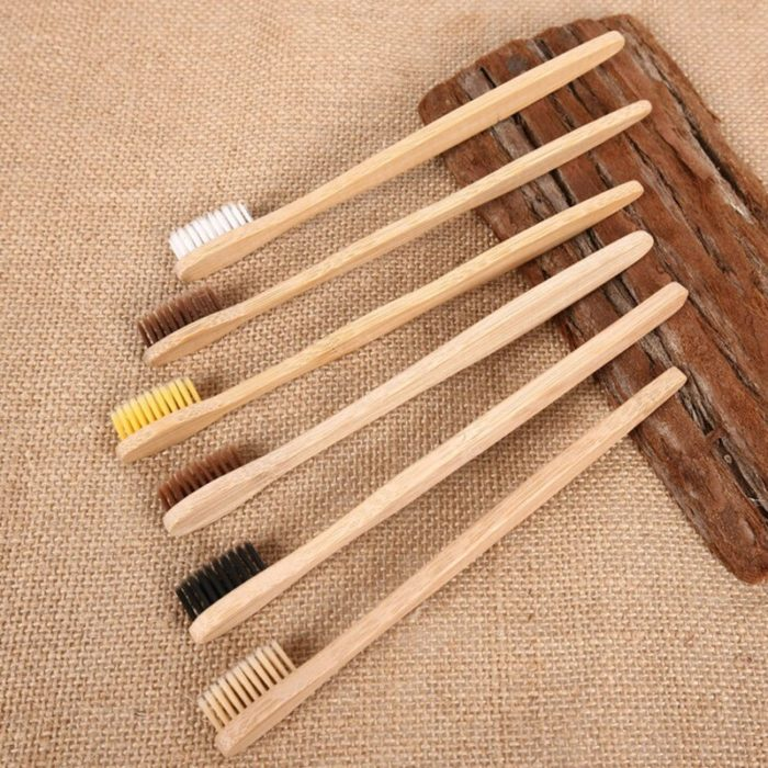 Wooden Toothbrush Bamboo Soft Bristle