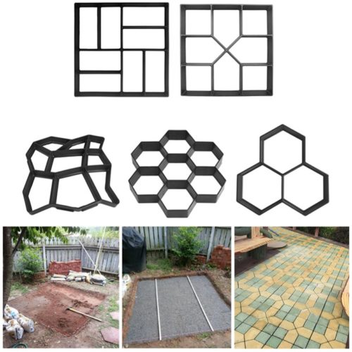 Cement Molds DIY Pavement Designs