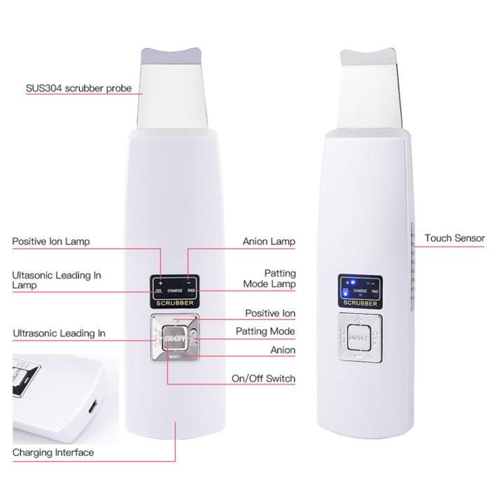 Electric Facial Cleanser Scrub Machine
