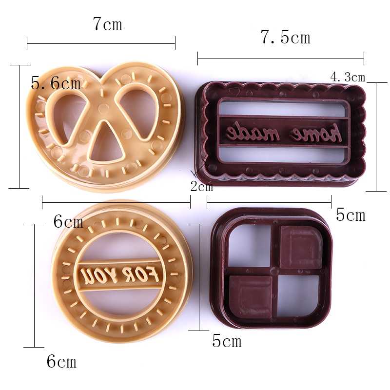 Cookie Molds Baking Cute Design