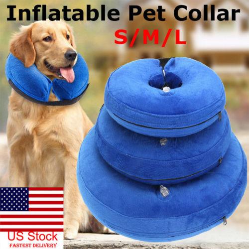 Inflatable Dog Collar Pet Supplies