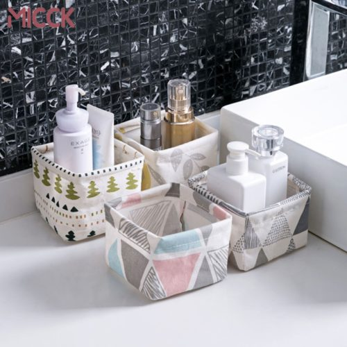 Small Storage Boxes Organizer Bin
