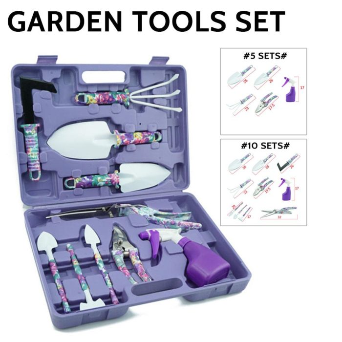 Garden Equipment Lightweight Tools Set