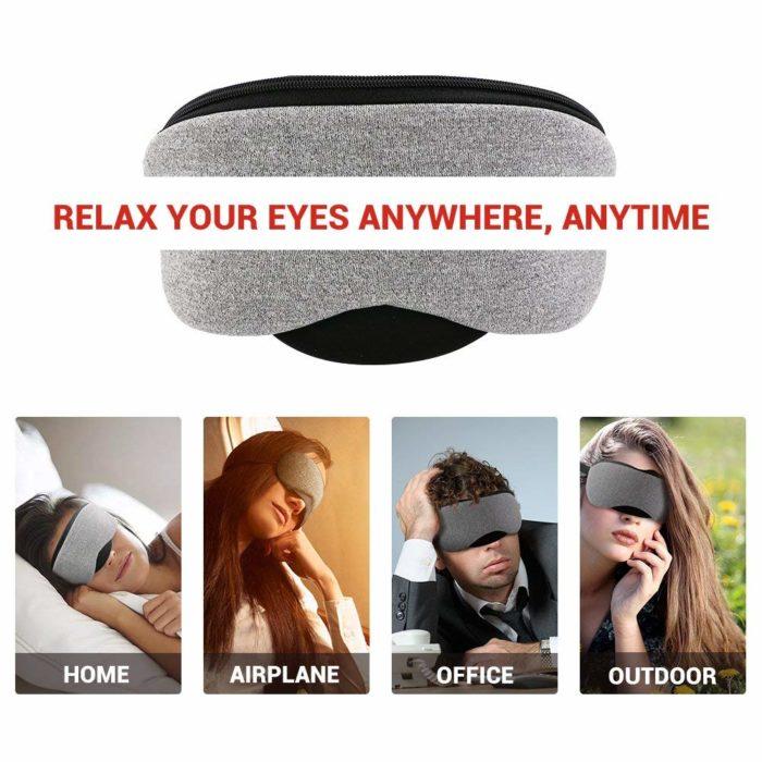 Eye Cover USB Heated Sleep Mask