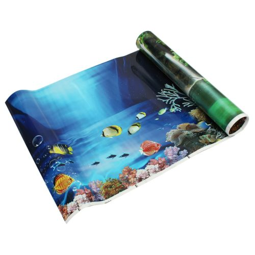 Aquarium Backgrounds Double-Sided Poster