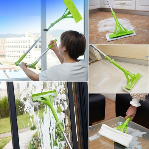 Glass Wiper Telescopic Window Cleaner