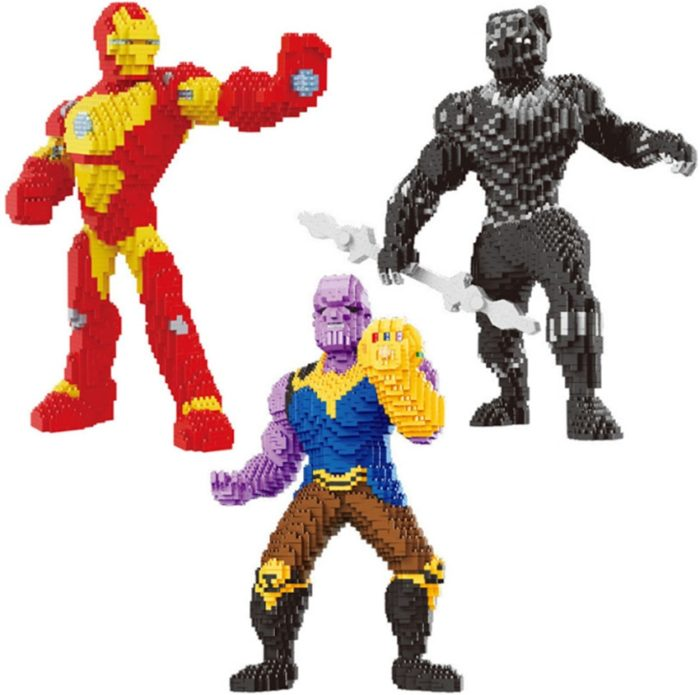Nanoblock Building Blocks Super Hero