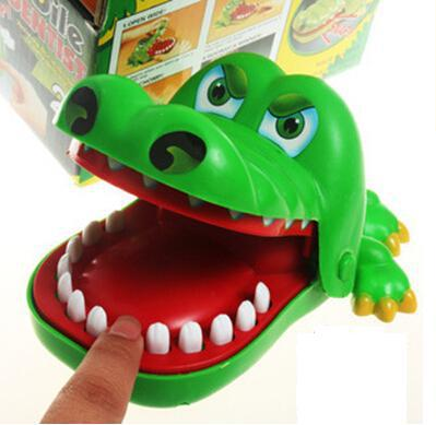 Crocodile Game Bite Finger Toy