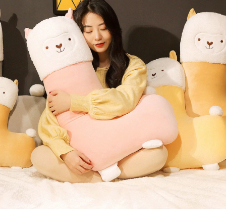 Cute Stuffed Animal Alpaca Toy