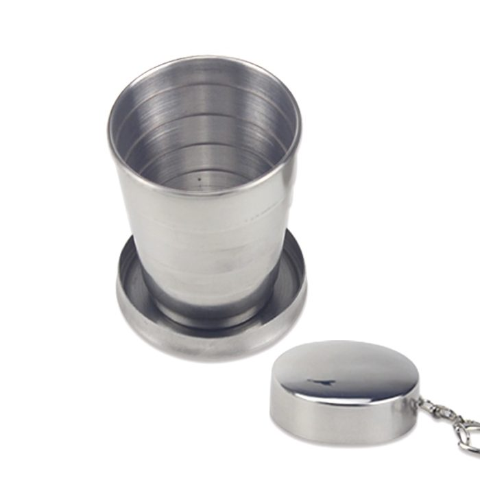 Wine Tumbler Telescopic Stainless Cup