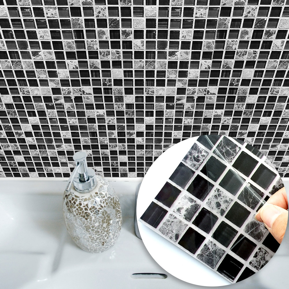 Bathroom Tile Stickers Waterproof Decor Life Changing Products