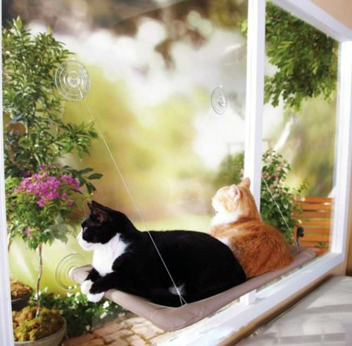 Cat Window Hammock Hanging Bed