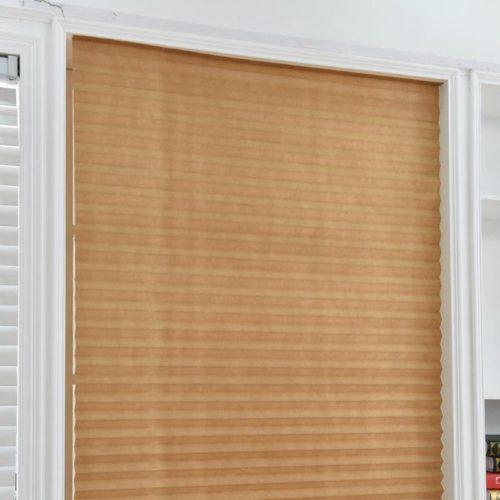 Pleated Blind Window Self Adhesive