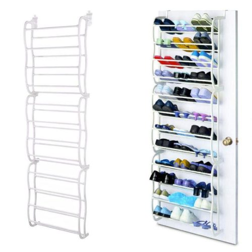 Over The Door Shoe Rack Storage Organizer