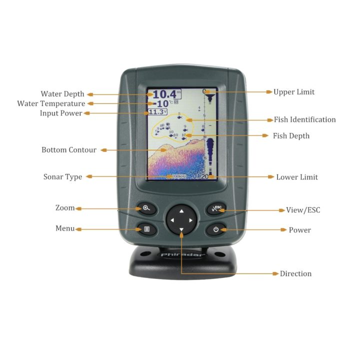 Depth Finder Fish Detector Device